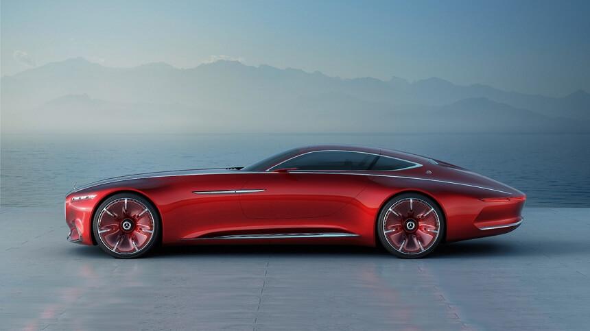 Vision Mercedes-Maybach 6 - luksusowy luskus