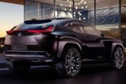 Paryż 2016: Lexus UX Concept - nowy poziom projektowania
