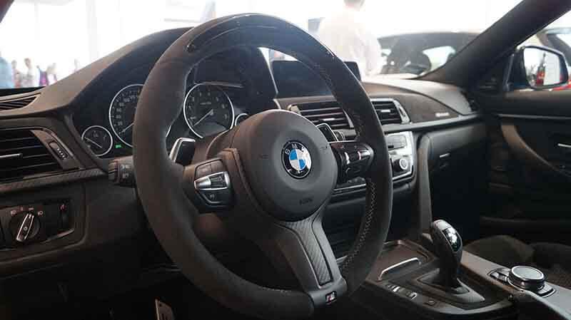Wnętrze BMW 440i xDrive