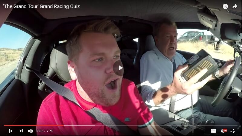 The Grand Tour - Pierwsze video