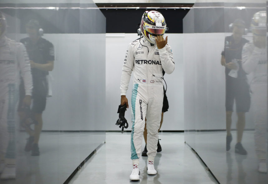 Formel 1 - MERCEDES AMG PETRONAS, Großer Preis von Malaysia 2016. Lewis Hamilton ; Formula One - MERCEDES AMG PETRONAS, Malaysian GP 2016. Lewis Hamilton;