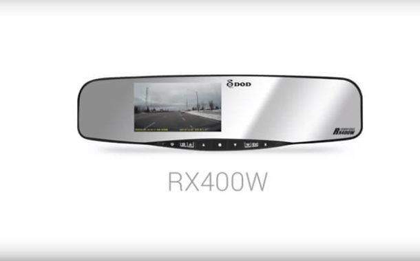 Wideorejestrator DOD RX400W - multifunkcyjny ale czy potrzebny?