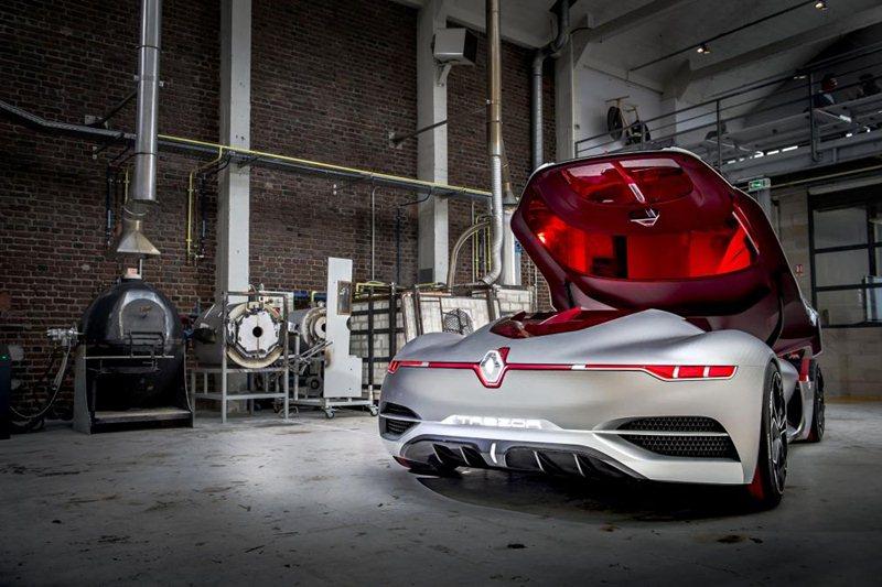 Renault Trezor - gwiazda jaśniejsza niż inne