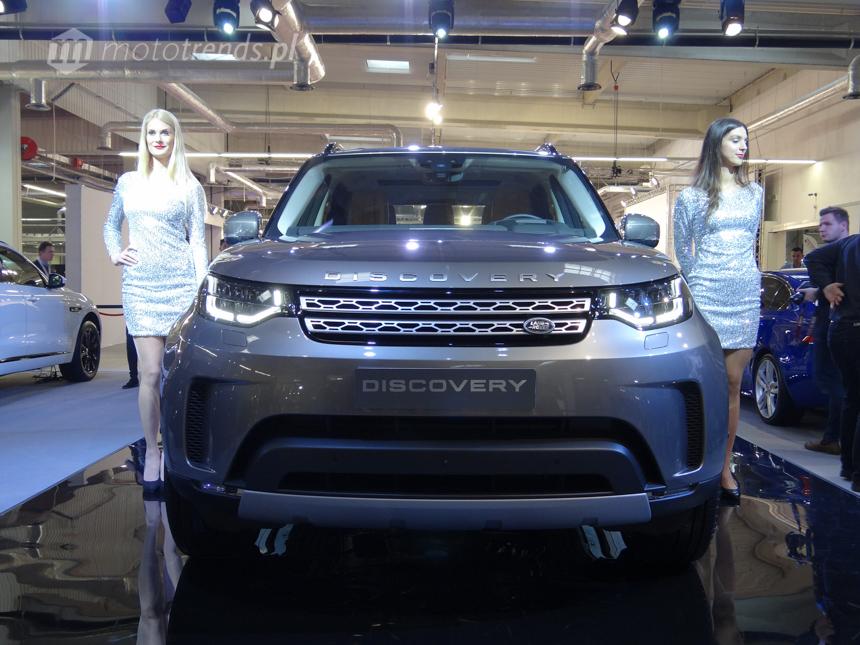 Land Rover Discovery - polska premiera na Warsaw MotoShow