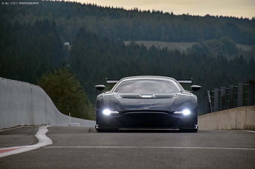 Aston Martin Vulcan track day na torze Spa - Francorchamps