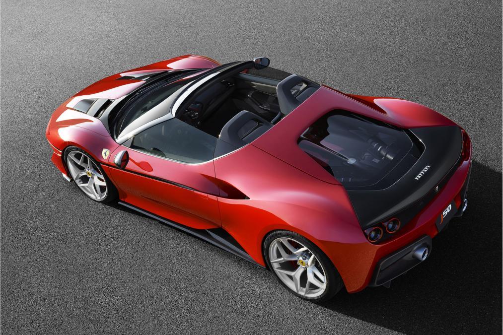 Limited edition - Ferrari J50 Spider
