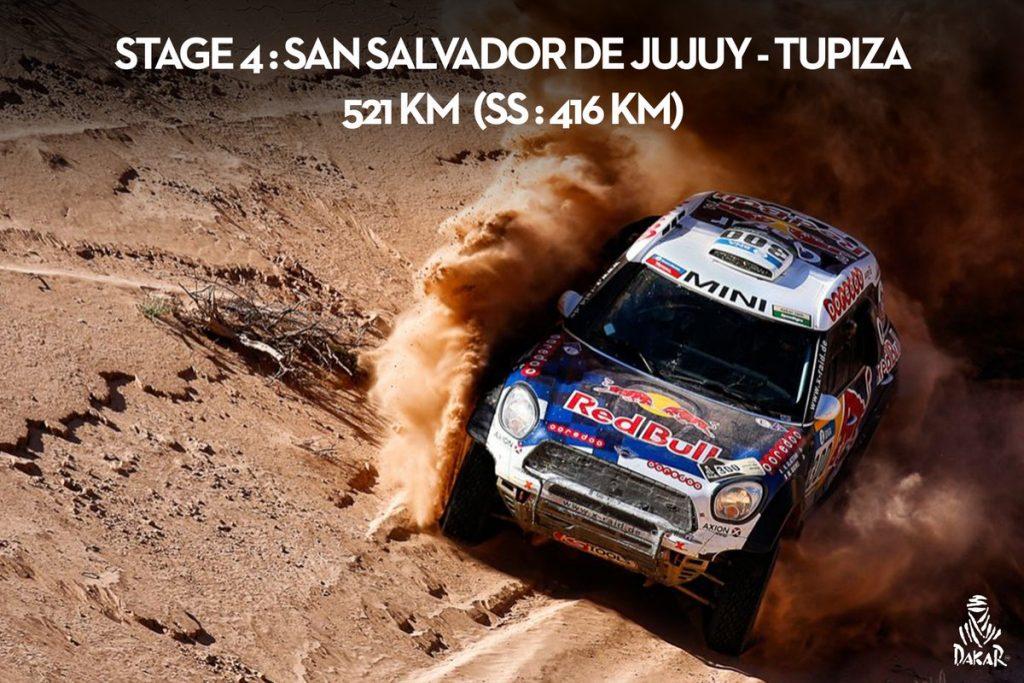 Rajd Dakar 2017 - Etap 4 - Sonik, Przygoński, Rodewald w czołówce