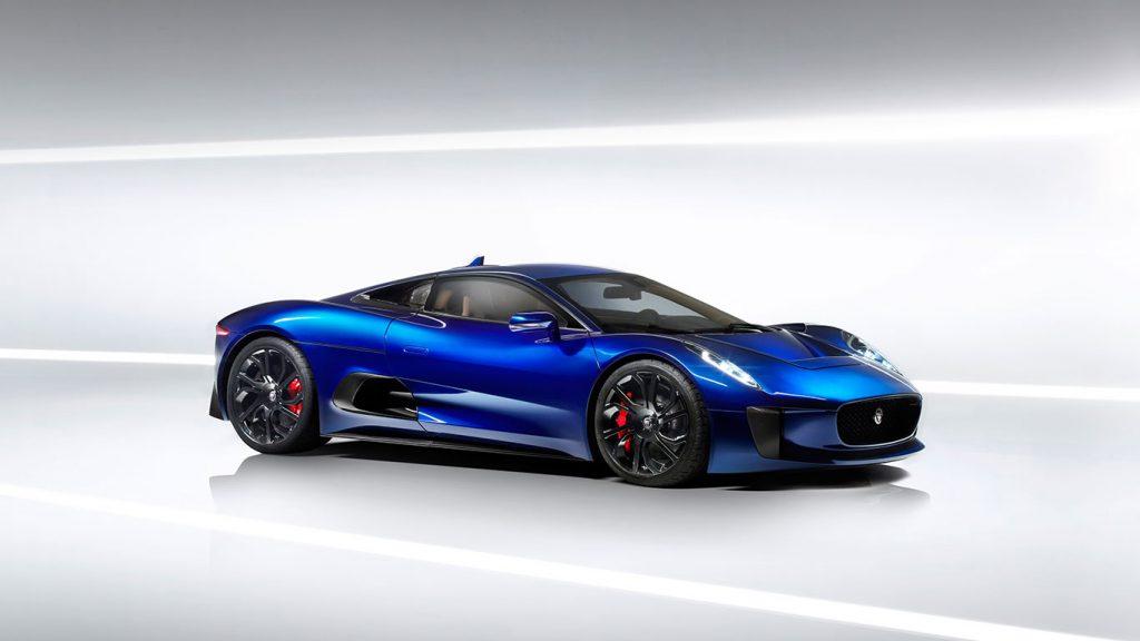 Jaguar C-X75 - Design i inżynieria przyszłości w angielskim stylu.