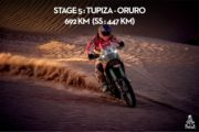 Rajd Dakar 2017 - Etap 5 - Skrócona rywalizacja