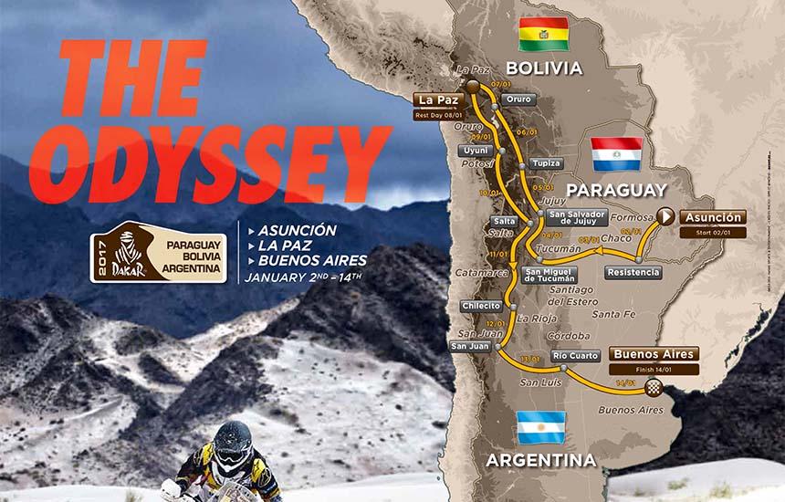 Rajd Dakar 2017 - Prolog, przedsmak walki.
