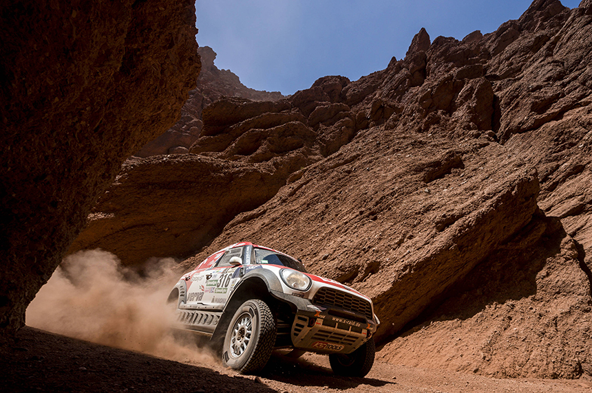 Rajd Dakar 2017 - Etap 3 - Pierwsze górzyste warunki