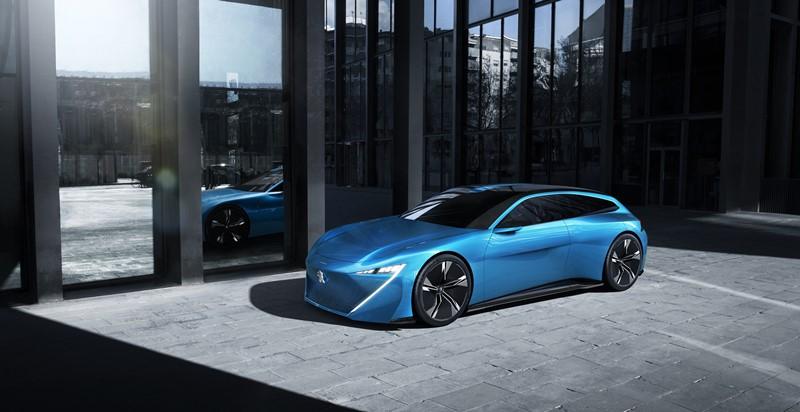 Peugeot Instinct wizja motoryzacyjnej przyszłości