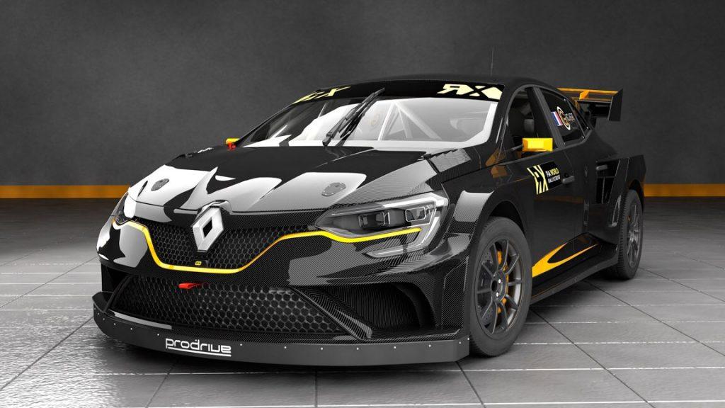 Renault MeganeRX by Prodrive w nowym zespole GCK