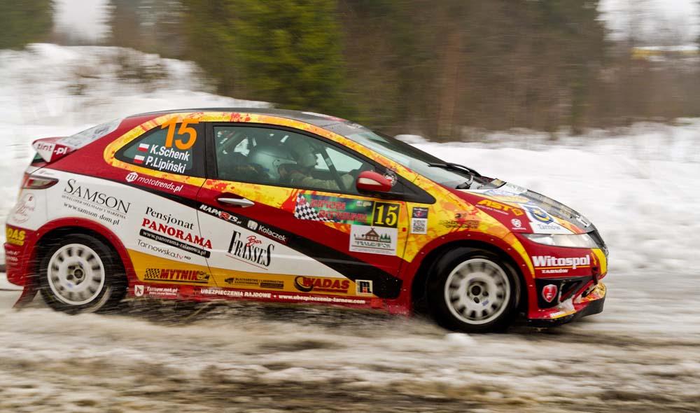 Tint Rally Team na Ukrainie - Rally Zymovi Vershyny 2017