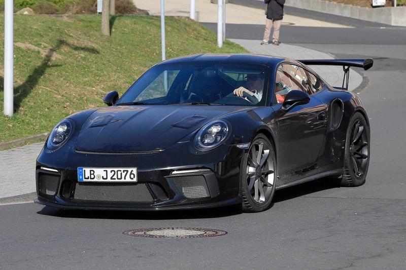 Nowe Porsche 911 GT3 RS przyłapane podczas testów