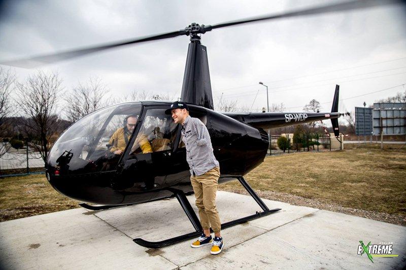 Pasja na krawędzi: Samochody to za mało - Bartek testuje helikopter