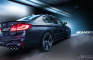 BMW M5 2018 (F90) - będzie podwójnie doładowane V8!