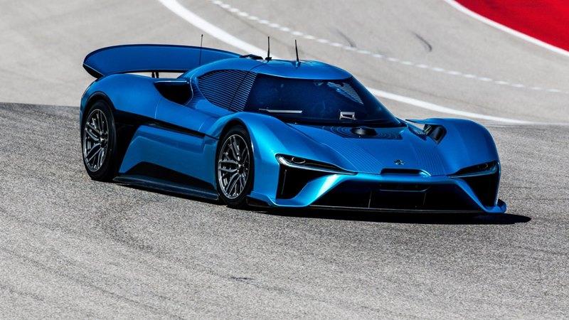 NIO EP9 - Chińczyk nowym rekordzistą Nurburgringu