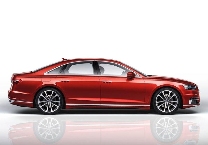 Luksusowa limuzyna - Audi A8