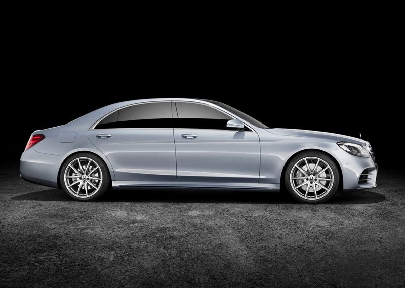 luksusowa limuzyna - Mercedes S-class