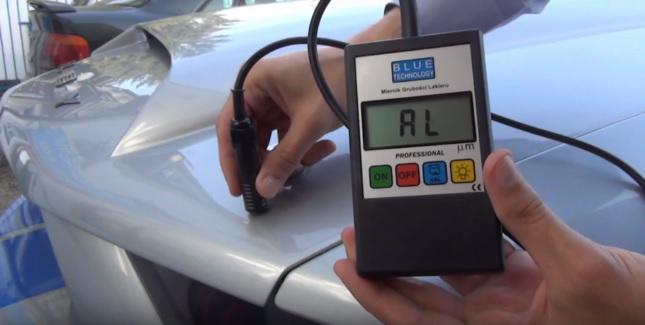 Miernik grubości lakieru - pomocny przy zakupie samochodu używanego