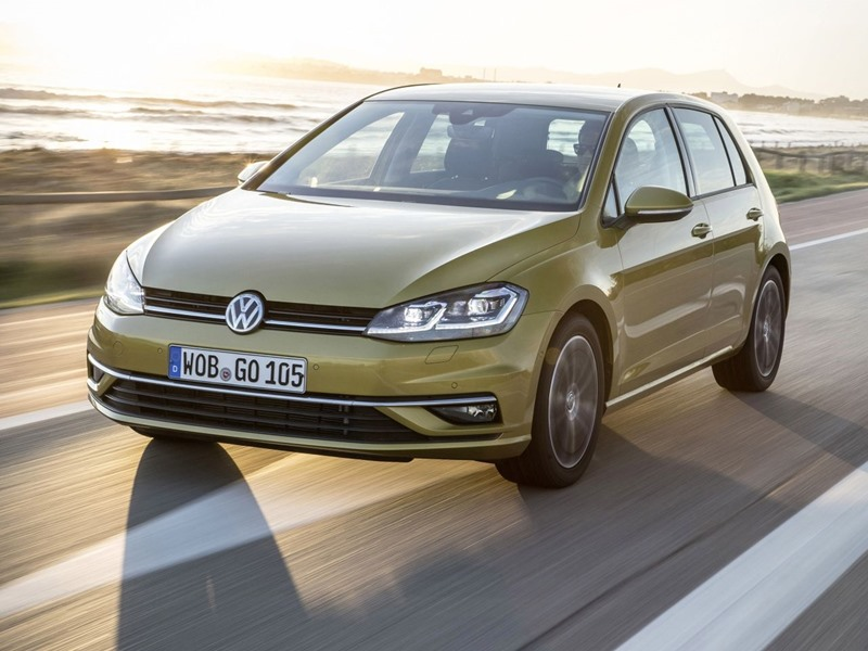 Kompaktowe hatchbacki Volkswagen Golf