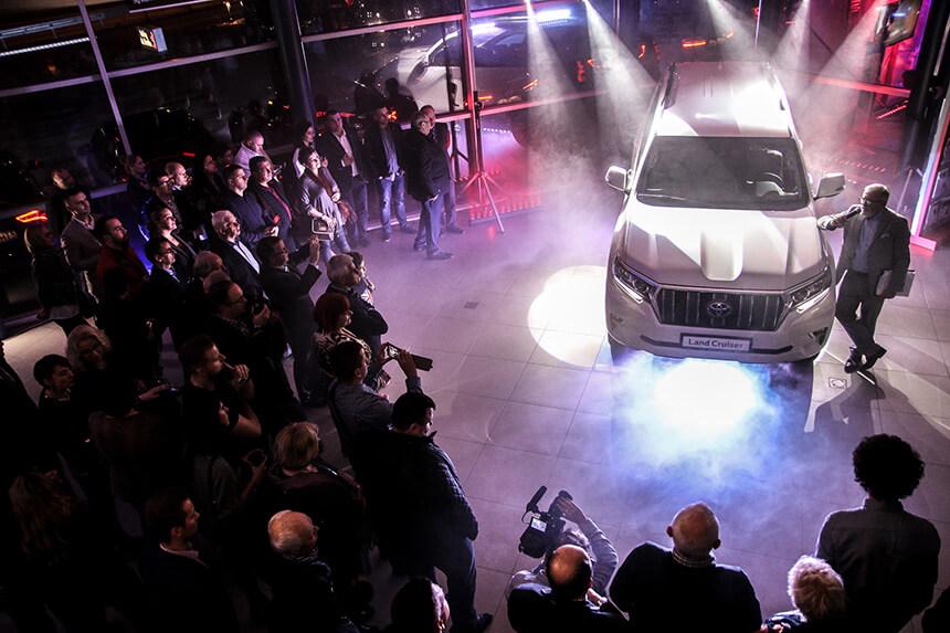 Premiera Land Cruisera na otwarciu salonu Carolina Toyota Bielsko