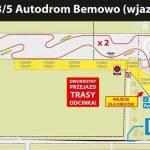 Przebieg trasy Autodrom Bemowo na Rajdzie Barbórka
