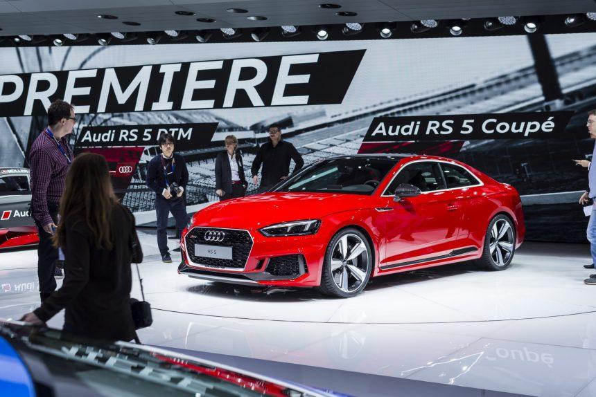 Audi RS5 premiera w Genewie