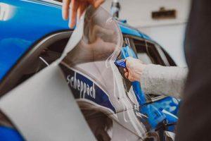 car wrapping przygotowanie folii