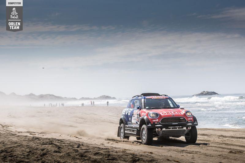 Czwarty etap Rajdu Dakar - Co się działo?