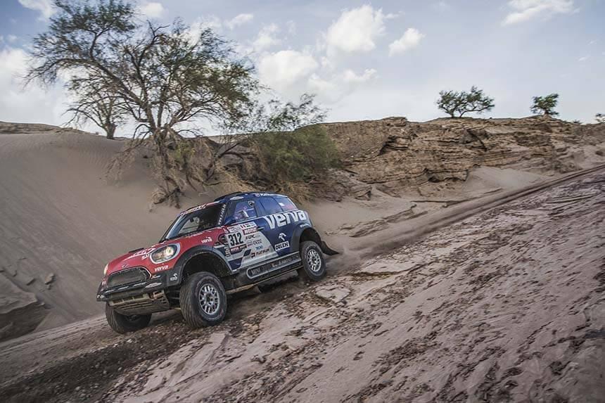 11 etap Rajdu Dakar - Argentyńskie bezdroża