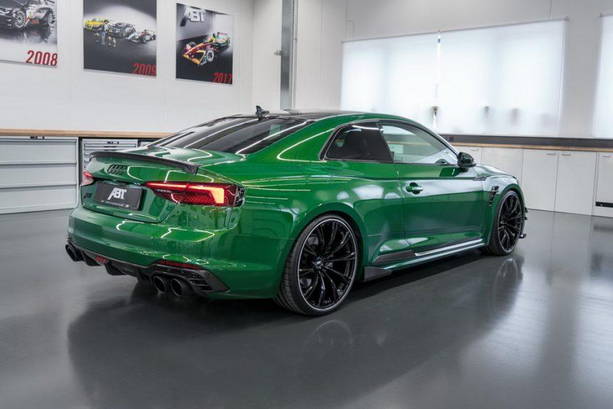 Audi RS5-R ABT widok z tyłu