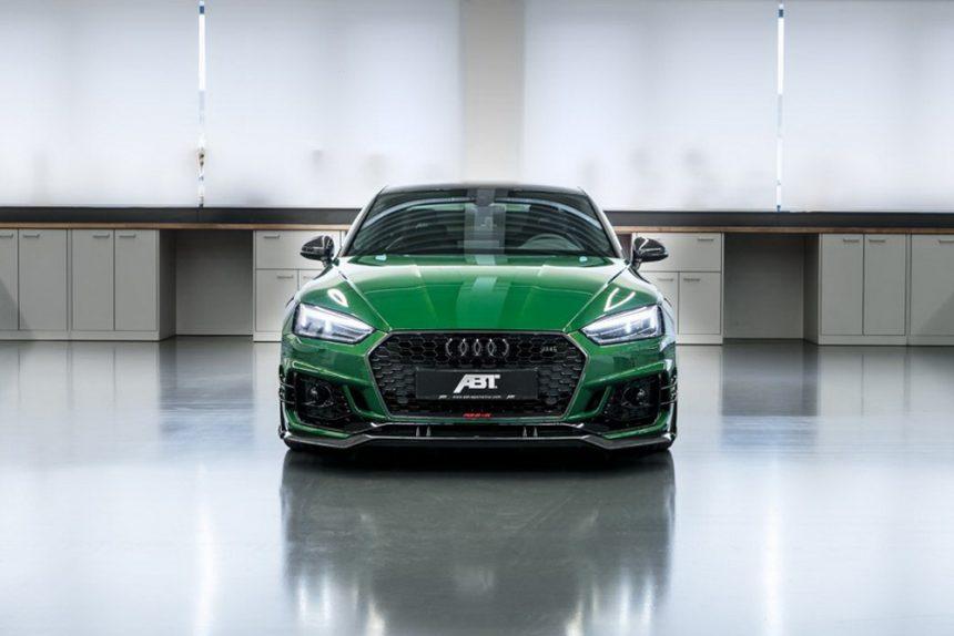 Audi RS5-R ABT widok z przodu