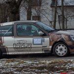 Rajdowy Puchar Śląska 2018-Watras i Kluczewski w Renault Clio