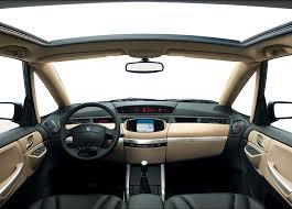 Renault Avantime wnętrze samochodu