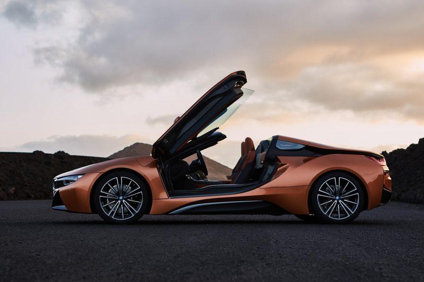 Co będzie na Motor Show? BMW i8 Roadster