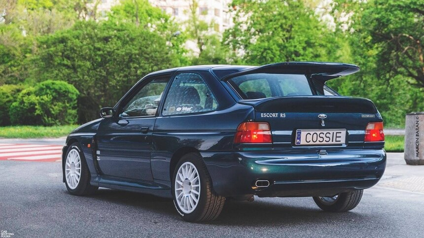 Car spotted Ford-Escort Cosworth RS, fot. Marcin Baran Photography