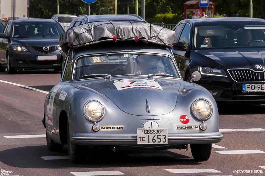 car spotted Porsche 356