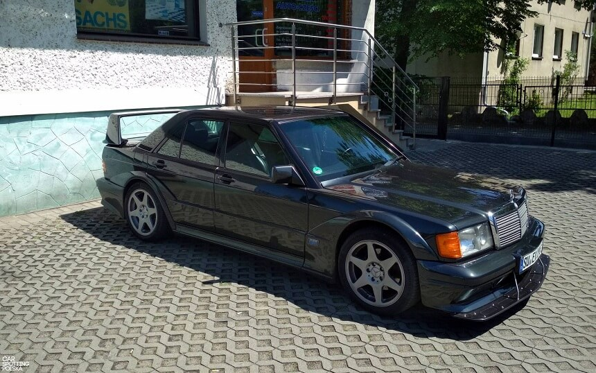 ranking Car Spotting Polska- Mercedes-Benz 190E 2.5-16 Evolution II
