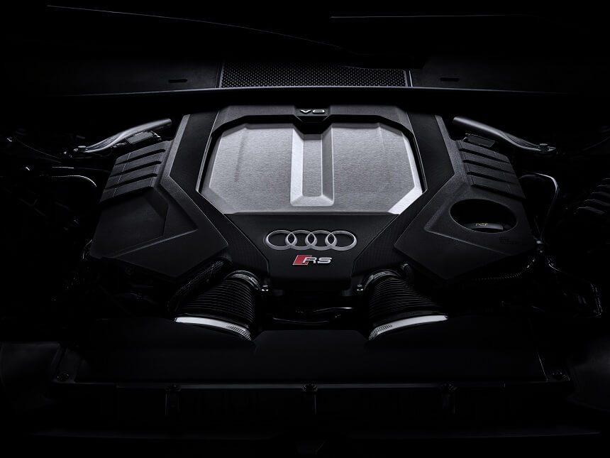 silnik, dane techniczne w nowym audi rs 6