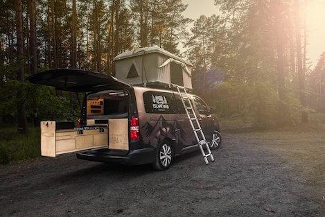 escape vans w terenie