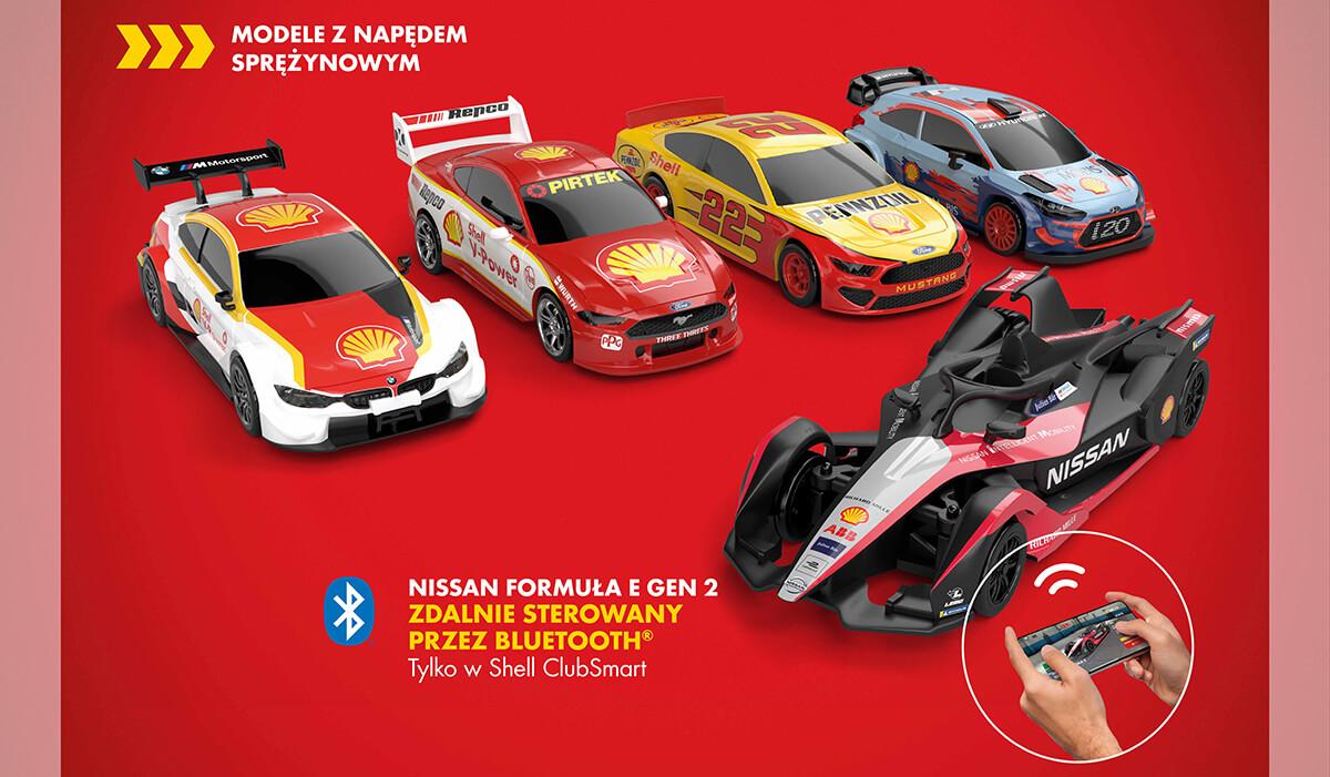 Kolekcja Shell motosport - zbierz ją!